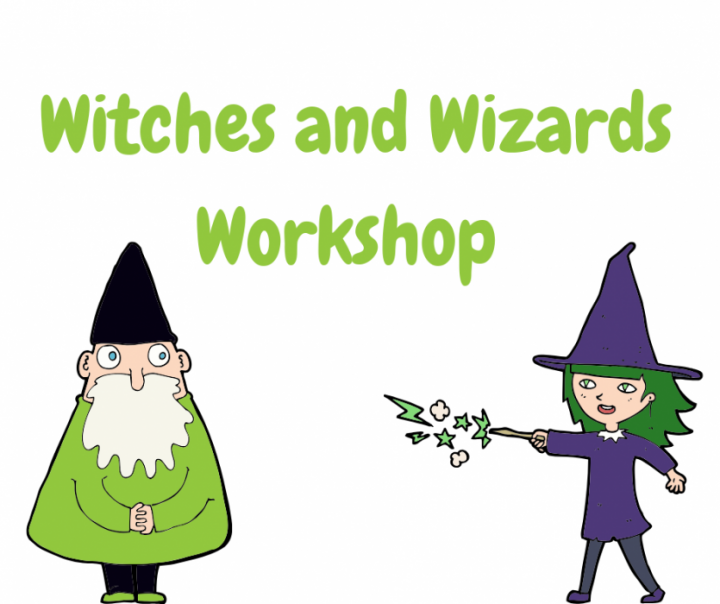 Witches and Wizards Workshop 4-9 years